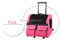 china suppliers airover portable foldable trolley dog bag
