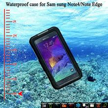 Shockproof Plastic Case Waterproof For Samsung Note 3 4 5