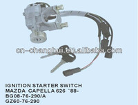 Ignition starter switch BG08-76-290 for MAZDA CAPELLA 626 ' 88-