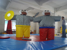 SUNWAY hot sale inflatable fighting sumo suit,superhero inflatable suit,Sumo Wrestling