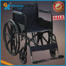 Quality guarantee Steel Manual sales of used wheelchair for elderly people