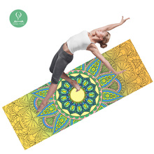China Supplier Ultra Absorbent,Machine Washable Microfiber Print Hot Yoga Towel
