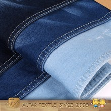 Wholesale shirting cotton stretch twill jeans denim fabric