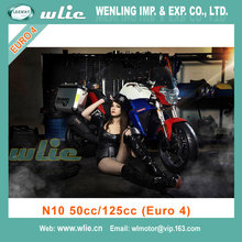Chinese gas scooter selling well in burma Euro 4 EEC & COC Racing Motorcycle (N10 50cc, 125cc)