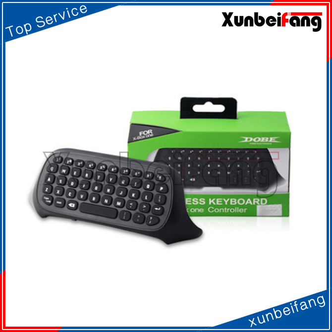 2016 Newest Design DOBE Brand 2.4G wireless mini chatpad/keyboard for xboxone game controller