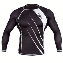 Custom Fashion Long SLeeves Rash Guard,Printed Men Compression Shirts Nylon Polyester material,OEM Sports Tight Thermal Shirts
