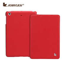 Jisoncase 2017 NEW smart cover leather folio case for iPad Mini 2 case and cover China supplier