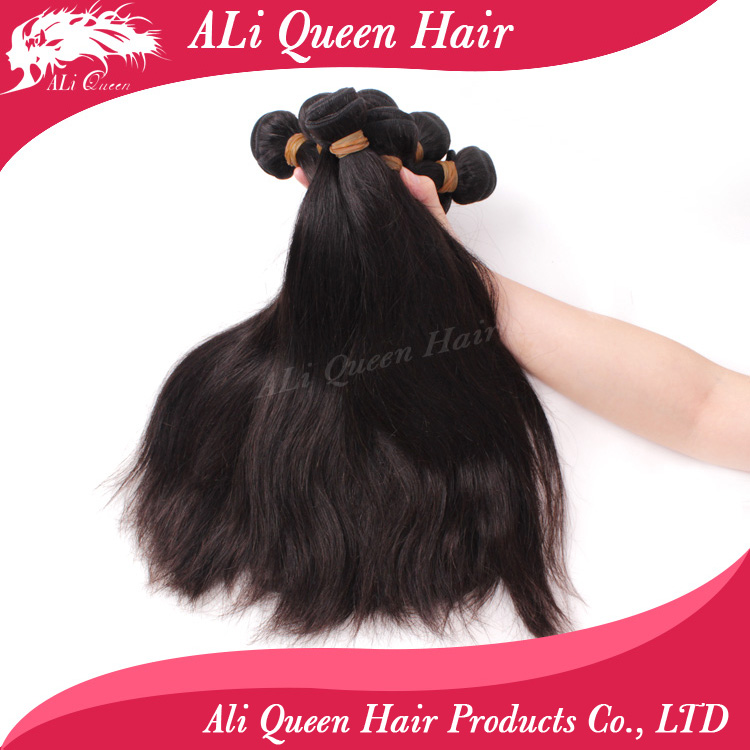 Cheap double drawn real human hair extensions malaysian hair