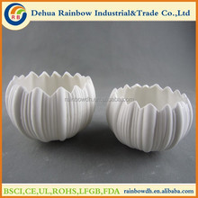 Wholesale mini ceramic flower pots for home decor