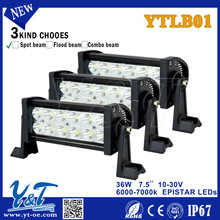 New product with five auxiliary rear light function tuning light led light bar 36w 10 inch