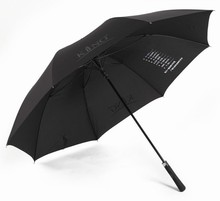 60 Inch Oversized Vented Canopy Auto Open Waterproof & Sunproof Extra large Stick Golf Umbrellas