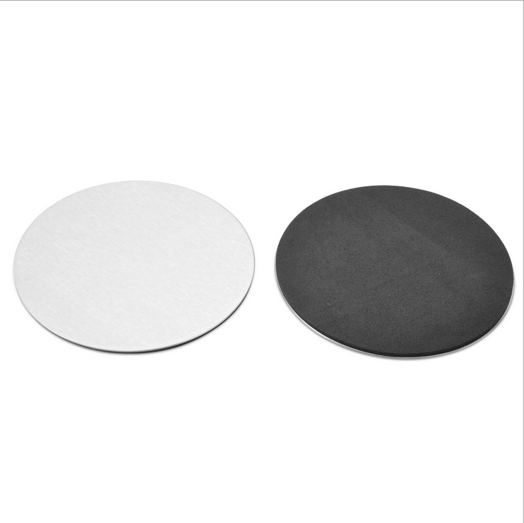 cup mat Metal coaster Round Shape Stainless Steel cup Coaster