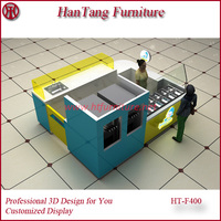 slush kiosk design mall display Good luck for chinese economy 2016