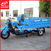Motorized gas powered heavy load tricycle loading 1.5 ton large capacity street legal design
