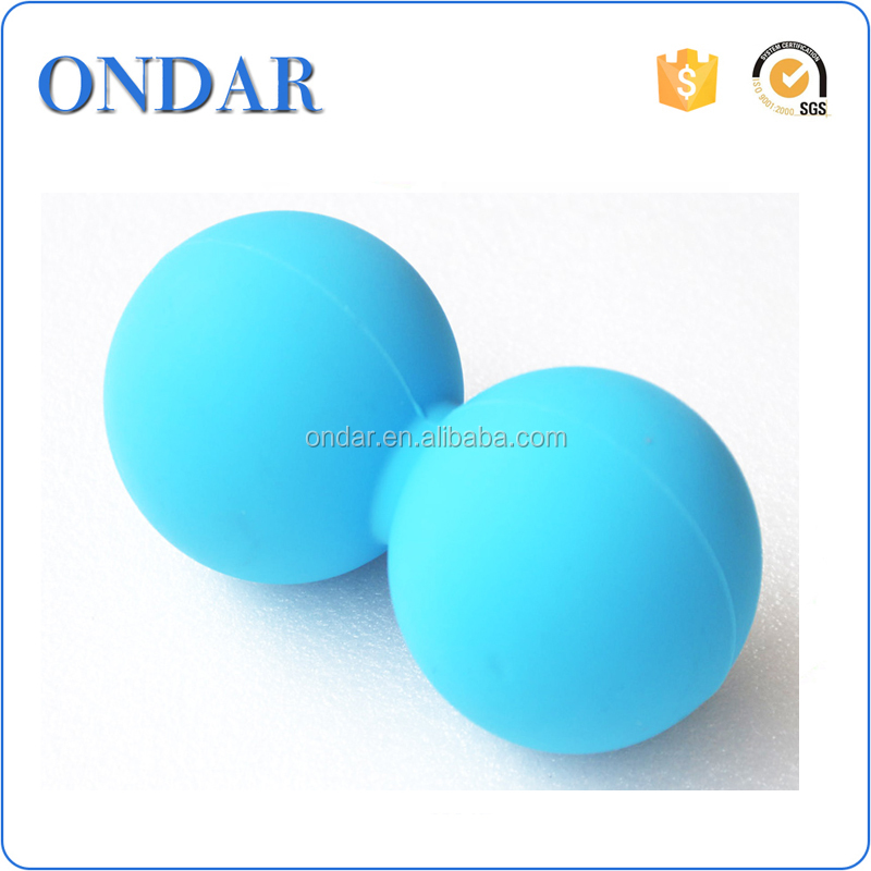 Silicone massage ball exercise hand grip