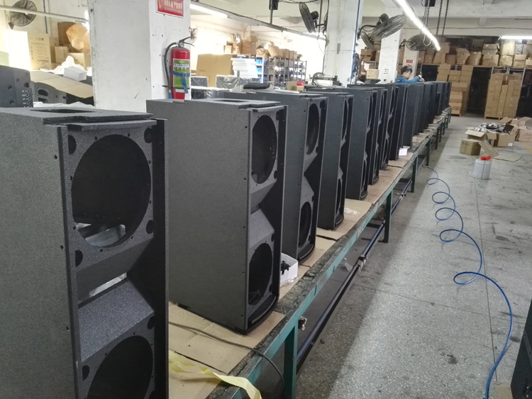 Double 10 quot line array speaker empty cabinet buy line array speaker