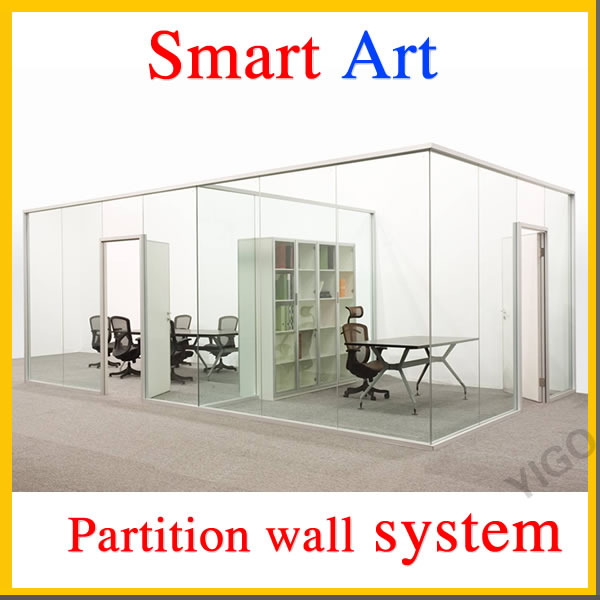 space dividers office /frosted glass office partitions /interior glass walls and doors