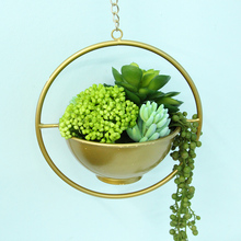 popular fake bunches fashionable artificial fruits faux long cluster eye-catching geenery succulent hanging wall home