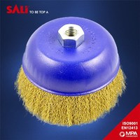 Free sample industry factory direct car cleaning brush , brass wire brush