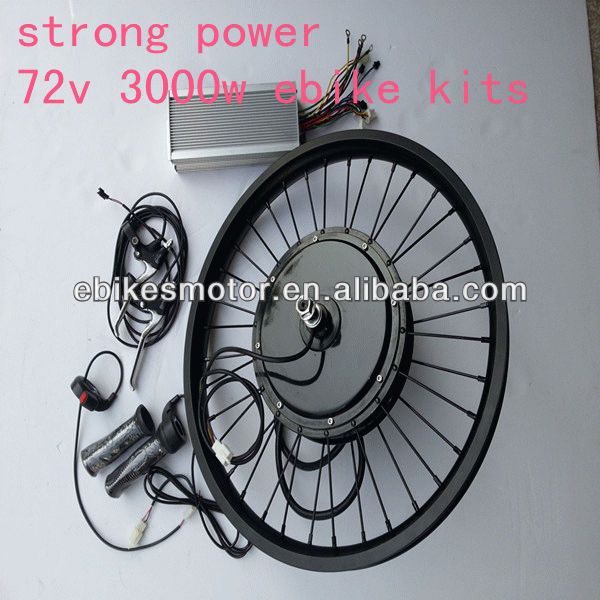 e bike kit motor bldc 3000w in wheel motor