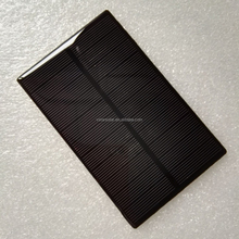 1v 2v 3v 5v 6v 12v 0.5w 1w 2w 3w Customized mini epoxy Solar Panel for charging Li-ion battery