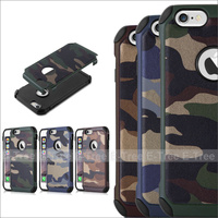 Premium Strong Camouflage Hybird Shock Proof Phone Case Cover For Apple Iphone6