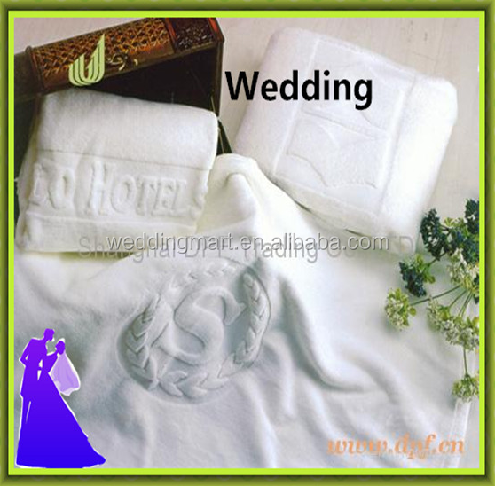 Top sale white cotton towel for hotel or home cheap for sale from China
