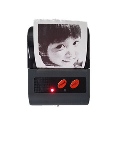 Mini Portable Bluetooth Thermal Printer Support Multiple Functions