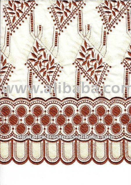 TC Color Change Embroidery Cotton Voile Lace