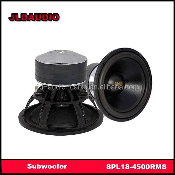 "JLDAUDIO subwoofers with 5000 watts RMS for Big Bass 18"" subwoofer spl"