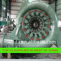 100kw china supplier francis hydro power turbine micro