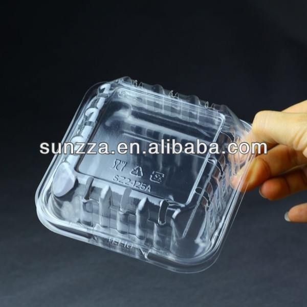 plastic 125g blueberry boxes for cleamshell packaging