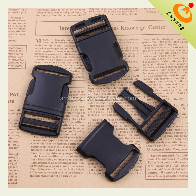 tactical black buckle cute plastic strap buckles custom made travel baggage tag for airlines