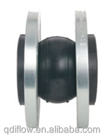Flanged Single Sphere Rubber Joint DN32-DN600