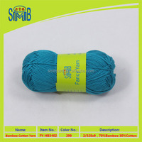 china blend yarn manufacturer smb best wholesale oeko tex quality cotton bamboo composite weave yarn for knitting