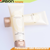 120ml round plastic tube container for cosmetic