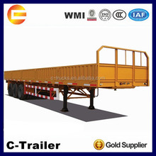 China High Quality 3 Axles 40Tons Fiberglass Utility Trailer
