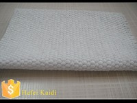 Good material non asbestos high temperature fiber cloth without dust