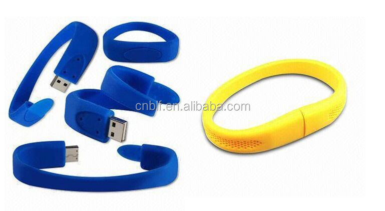 2017 New product Silicone bracelet usb flash drive for promotion gift China