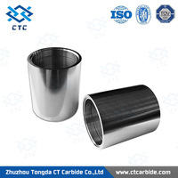 best selling polished tungsten carbide shaft sleeves ,shaft bushing