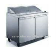 Salad Preparation Refrigerator,kitchen refrigerator, with ETL Certification, CFC-free and Thermostatic Control