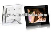 "2012 Fashion 8"" Digital Photo Frames,Movies MP3, photo/video/music playback, E-book,Remote control,cheap price!"