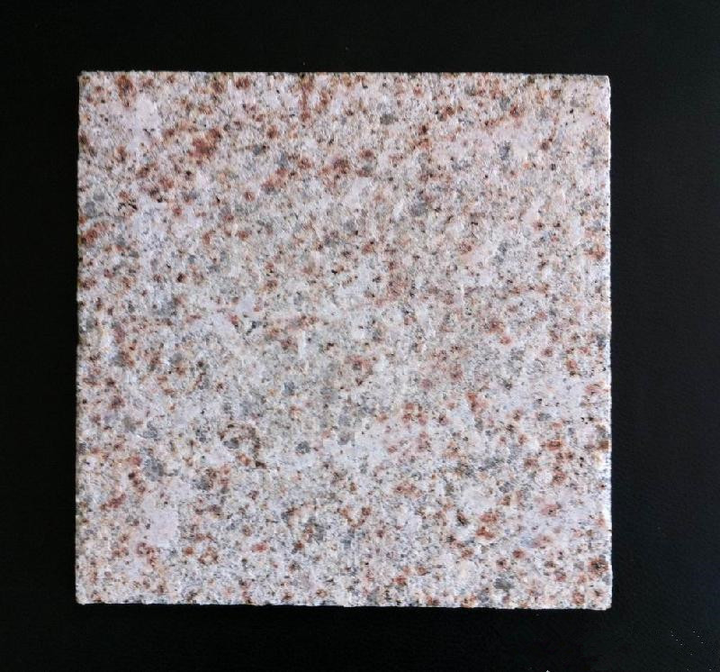 Chinese G682 Granite setts tumbled, granite cobbles stone