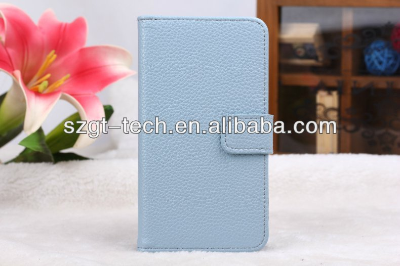 Wholesale price for Samsung galaxy S5 i9600 wallet leather cases