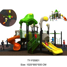 2017 New big model kids Outdoor Playground equipment For sale