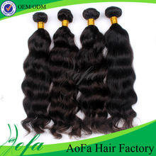 Luxury 100% unprocessed hair indian hair distributors AoFa hair new products