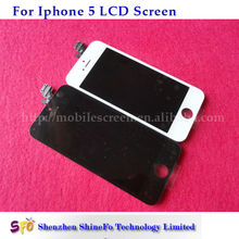 biggest discount price and high quality glass digitizer and lcd display for iphone 5