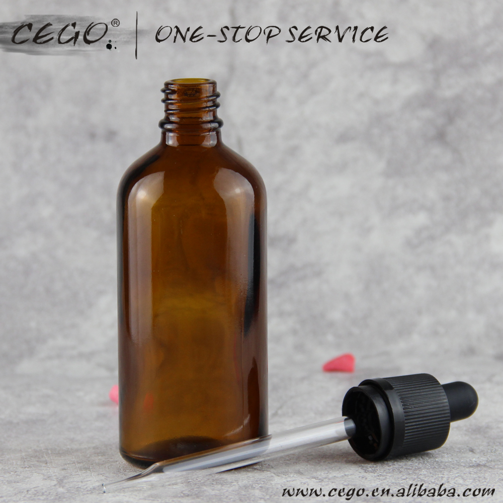 china suppliers 100ml 120ml amber nature color glass dopper boston round eliquid bottle tamper