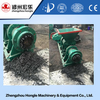 High efficiency charcoal rod extruder machine
