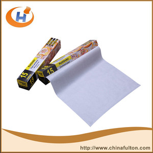 Double sides silicone coated baking parchment paper jumbo roll